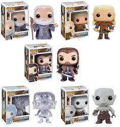 Amazon.com: Funko POP Vinyl Figure Movie the Hobbit 2 Set of 5: Toys & Games