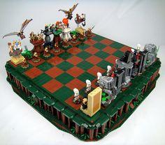 'Return Of The Jedi' LEGO Chess Set