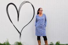 Tante Hilde: Stoff Liebe trifft Schnitt Liebe