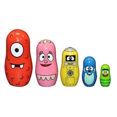 Amazon.com: Yo Gabba Gabba Nesting Doll Set: Toys & Games