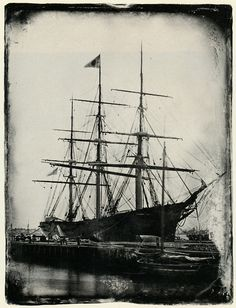 Champion of the Seas, East Boston, 1854 This is one of James' ships. He dreams of building a bigger one!