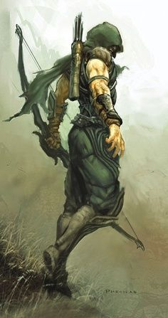Green Arrow, who happens to be one of my favorite heroes.