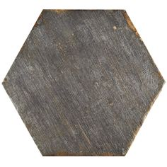 "EliteTile Rama 14.13"" x 16.25"" Hex Porcelain Floor and Wall Tile in Grey"