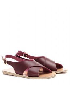 mytheresa ancient greek sandals maria