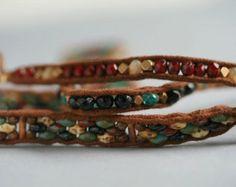 super duo bead bracelet - Google Search