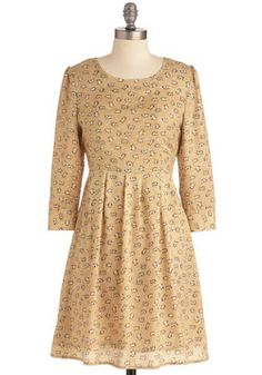 Between Me and Mew Dress, #ModCloth