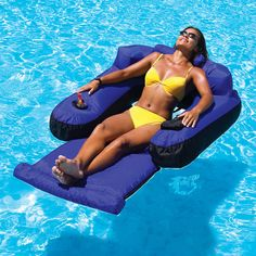 Enjoy relaxation at the pool or lake with our floating or inflatable pool lounges. ToySplash has the largest selection of Pool Lounges, Pool Floats and Pool Rafts. Floating Lounge Chairs, Pool Chairs, Swimming Pool Toys, Pool Rafts, Pool Lounge, Pool Equipment, Pool Supplies, Swim Cover, Cool Pools
