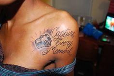 Really like this idea #camera #tattoo