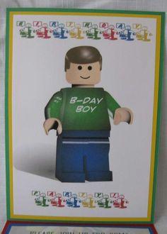 Lego 5th Birthday | CatchMyParty.com