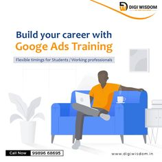 Google Ads Online Training for Working Professionals & Students.  - Learn PPC Advertising with Placement Assistance - Live Project Training & Work on Live Campaigns - Learn Optimizing Tips & Advanced Techniques Seo Training, Search Engine Marketing, Google Ads, Flexibility, Digital Marketing, Campaign, Students, Advertising, Learning