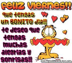 FELIZ VIERNES  que tengas un BONITO día!! te deseo que tengas muchas alegrías y sonrisas!!☺