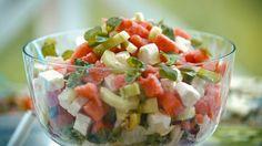 Alla recept i kategorin Sallad Fruit Salad, Foodies, Salsa, Mexican, Lime, Ethnic Recipes, Student, Fruit Salads, Limes