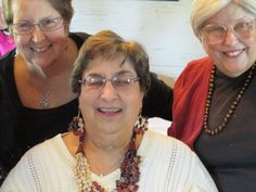 Ilene Blumberg, Ellie Schiller, and Beverly Pasternack