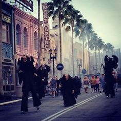 The Legions of Horror at Universal Studios Halloween Horror Nights 2012!