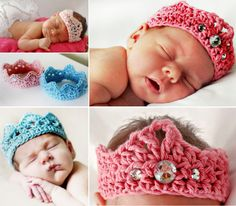 FREE Crochet Baby Crown - The WHOot