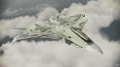 XFA-33 Fenrir. This is a wicked VTOL/STOVL Multi-role fighter from the Ace Combat series.