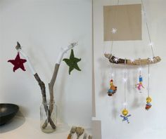 christmas ideas - like the branches with stars