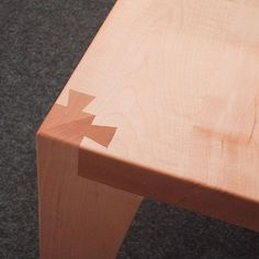 Table edge joint