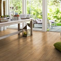 Laminate flooring   Pergo Sensation   Scraped Vintage Oak