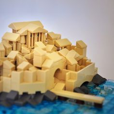 Lego Greek Port City