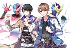 Kiryu Sento - Kamen Rider Build, Banjou Ryuga - Kamen Rider Cross-Z Anime Oc, Manga Anime, Kamen Rider Kabuto, Boboiboy Galaxy, Kamen Rider Series, Marvel Entertainment, Anime Shows, Banjo, Digimon