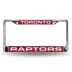 Toronto Raptors Laser Chrome Frame