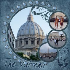 Rome - Vatican - Page 3 - Scrapbook.com great layout