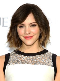 Katharine McPhee - You Voted: The 20 Chicest Short 'Dos - Photos