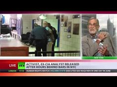 ▶ 'Dangerous precedent' – Ray McGovern on excessive police force | Rise Up Times - Liberty activist and former CIA analyst Ray McGovern has been released by New York police, after spending hours behind bars. Joins RT to tell everyone what happened.