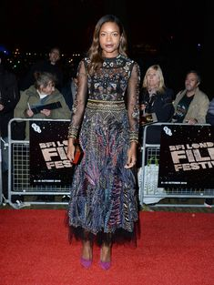 Look of the Day: October 10th, Naomie Harris - The Best Celebrity Outfits of 2016  - Photos