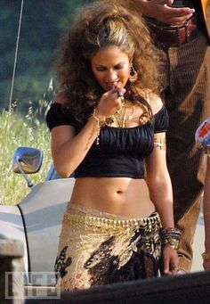 J.Lo Ain't it Funny (alt) gypsy outfit <3