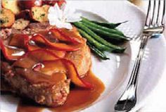 Veal cutlets with apples in marsala sauce | Veal Recipes