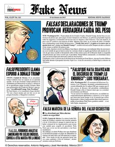 Fake News. Domingo 19 de febrero de 2017