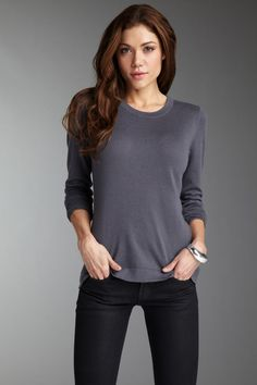 Bask Atelier Crew Neck Long Sleeve Sweater