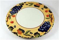 Fall Harvest - Cake Plate