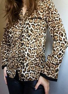 Kup mój przedmiot na #vintedpl http://www.vinted.pl/damska-odziez/koszule/11179213-piekna-koszuka-elegancka-panterka-36-s