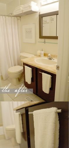 The Reno Report: Guest Bath #decor #homerenovations #easyupdate #homedecor #styling #weekendprojects #blog #blogger
