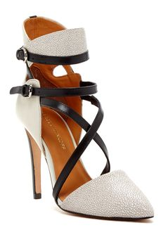 Rebecca Minkoff Strappy Pump #shoes #beautyinthebag #omg