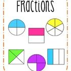 Use this poster to display in your room when starting a unit on fractions!...