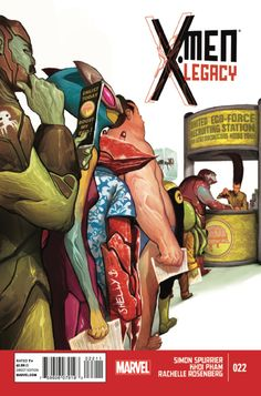 X-Men: Legacy #22 - Antibodies (Issue)