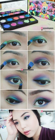 Tutorial and Review: Urban Decay Electric Palette!