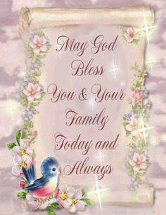 ...God bless you...