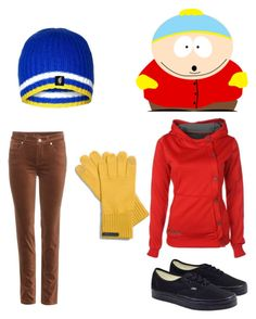 """""""Eric Cartman"""" by christine-kelly ❤ liked on Polyvore featuring Loro Piana, Vans and Coach"""