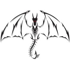Dragon Tattoo by DesertViper ❤ liked on Polyvore featuring accessories and body art