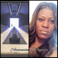 """Arementee J Couture House of Haute Couture & Modeling """"My Runway one day I am waking in it amen"""
