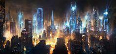 lights-futuristic-science-fiction-city-skyline-_136701-45.jpg (1920×908)