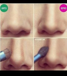 Nose make up Camouflage