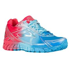 Brooks Womens Adrenaline GTS 15 DesdenBlueBluefishTeaberry Nylon Running Shoes 7 M US -- Click image for more details.