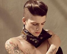 Pompadour Hairstyles #hairstyles
