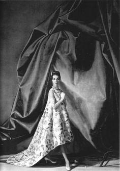 Balenciag  silk and sequin dress  1959